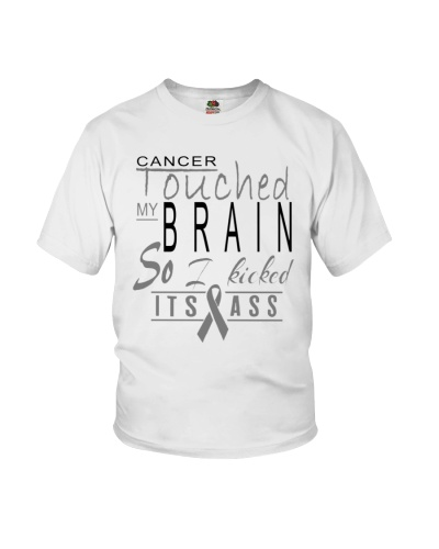 limited time-brain cancer kicked ass shirt