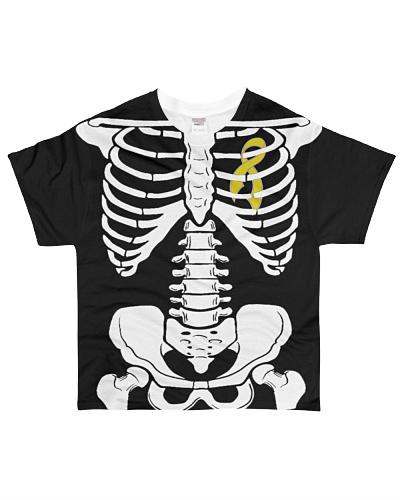 Limited Edition-osteosarcoma skeleton t shirts