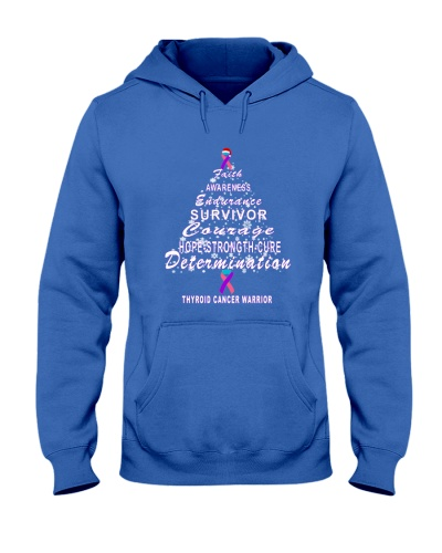 thyroid cancer Christmas tree t shirt