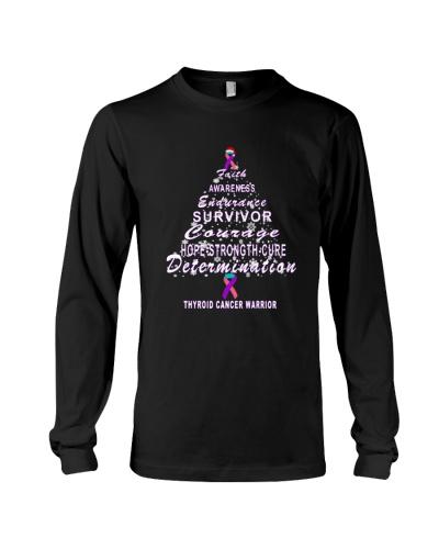 thyroid cancer Christmas tree t shirt