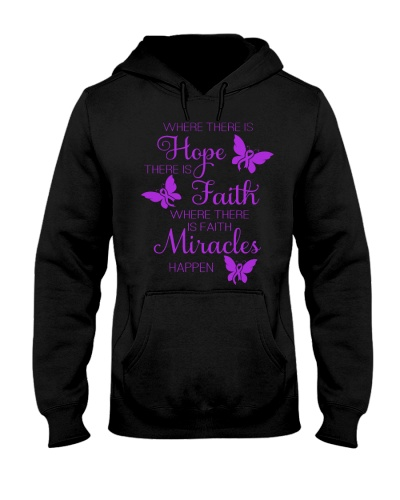 LIMITED TIME-Purple ribbon hope fight miracle