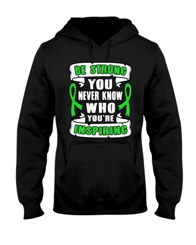 Limited Edition-green ribbon cancer be strong tees