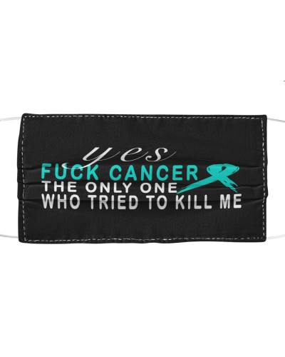 limited time-Teal ribbon cancer Fuck cancer gifts