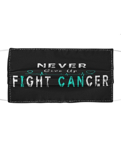 LIMITED TIME-TEAL ribbon cancer FIGHT CANCER gifts