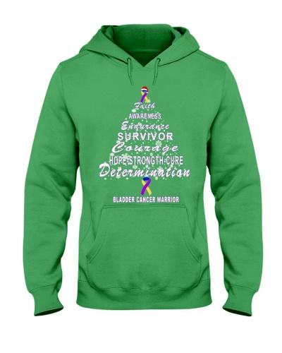bladder cancer Christmas tree shirt
