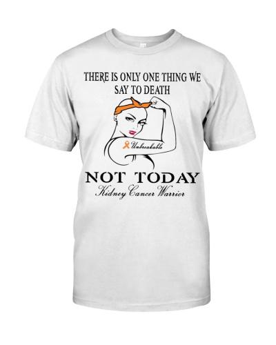 Kidney cancer stronger women unbreakable t shirt