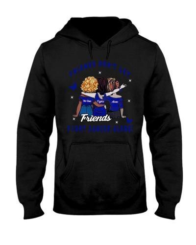 LIMITED EDITION- blue ribbon cancer friends shirt