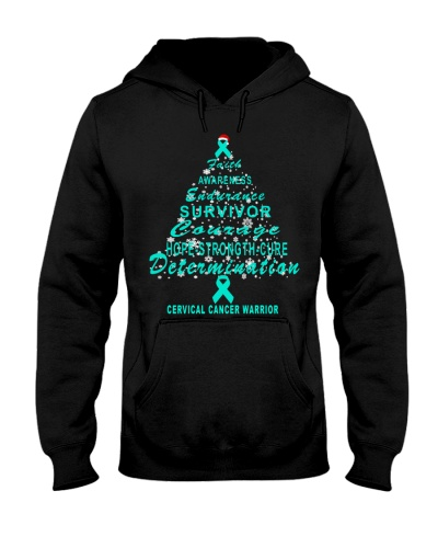 Cervical Christmas tree shirt