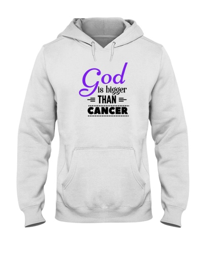 God and purple ribbon cancer  t shirt