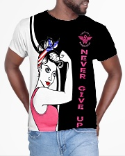Pink breast cancer all over shirts All-over T-Shirt aos-all-over-T-shirt-lifestyle-front-04