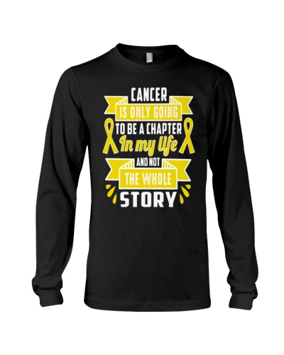 Limited Edition- yellow ribbon cancer story shirt