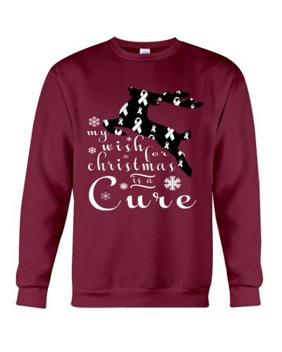 Limited Edition-lung cancer reindeer tees