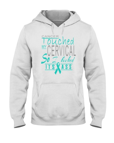 limited time-cervical cancer kicked ass shirt