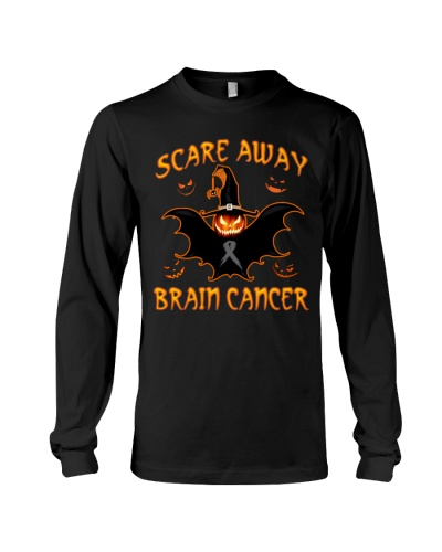 Limited Edition-halloween brain cancer t shirt