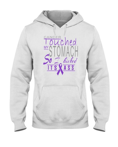 limited time- stomach cancer kicked ass shirt