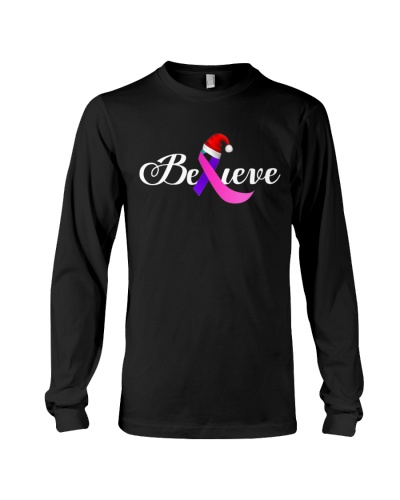 Limited Edition-thyroid cancer believe shirt