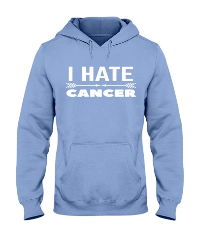 i hate cancer -lung cancer shirt