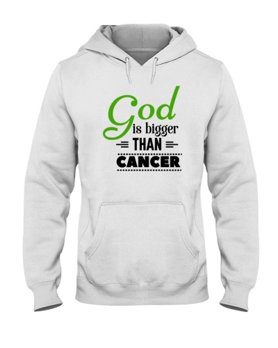 God and green ribbon cancer  t shirt