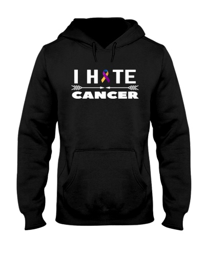 i hate cancer -bladder cancer shirt