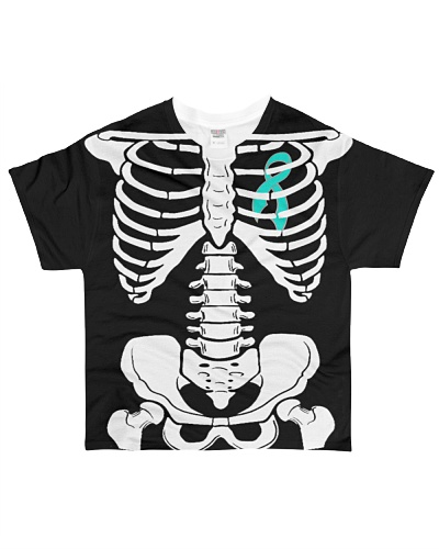 Limited Edition-ovarian skeleton t shirts