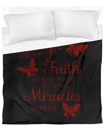 LIMITED TIME-red ribbon hope fight miracle