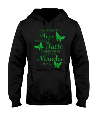 LIMITED TIME-green ribbon hope fight miracle