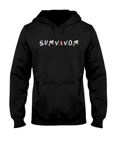 limited time-red ribbon cancer survivor shirts