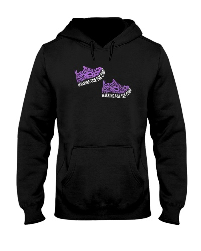limited time-Purple Ribbon cancer walking cure tee