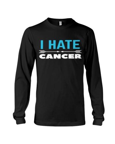 i hate cancer -prostate cancer shirt