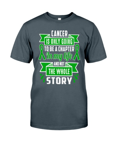 Limited Edition-green ribbon cancer fight shirt