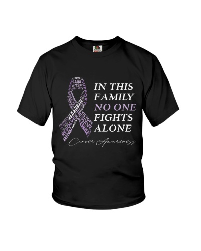 in This Family No One Fights Alone-Cancer t shirt
