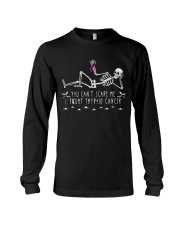 Limited Edition-thyroid cancer shirts Long Sleeve Tee front