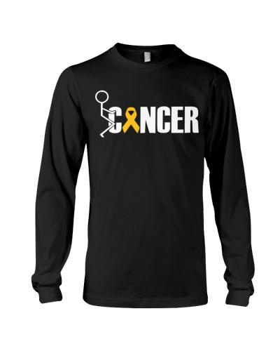 Limited edition-fuck yellow ribbon cancer shirt