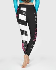 Breast cancer shirts cure for pink ribbon warriors High Waist Leggings aos-high-waist-leggings-lifestyle-06