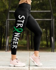 Ovarian cervical cancer Stranger than you think High Waist Leggings aos-high-waist-leggings-lifestyle-16