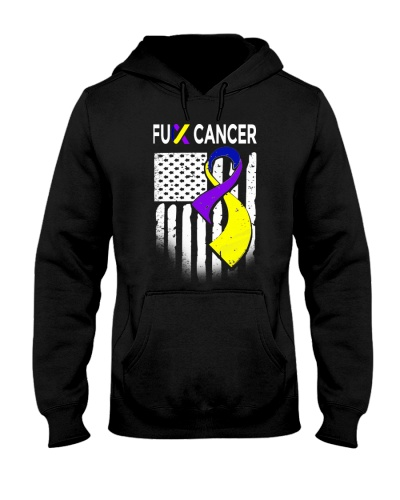 fuck bladder cancer us flag leggings- tees