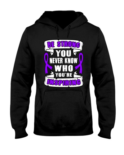 Limited Edition-purple ribbon cancer strong shirt