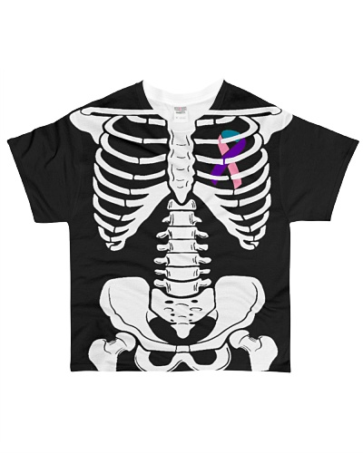 Limited Edition-thyroid skeleton t shirts