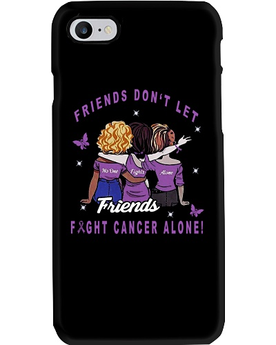 LIMITED EDITION-Purple ribbon cancer friends shirt