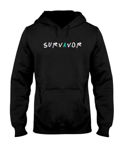 limited time-teal ribbon cancer survivor shirts