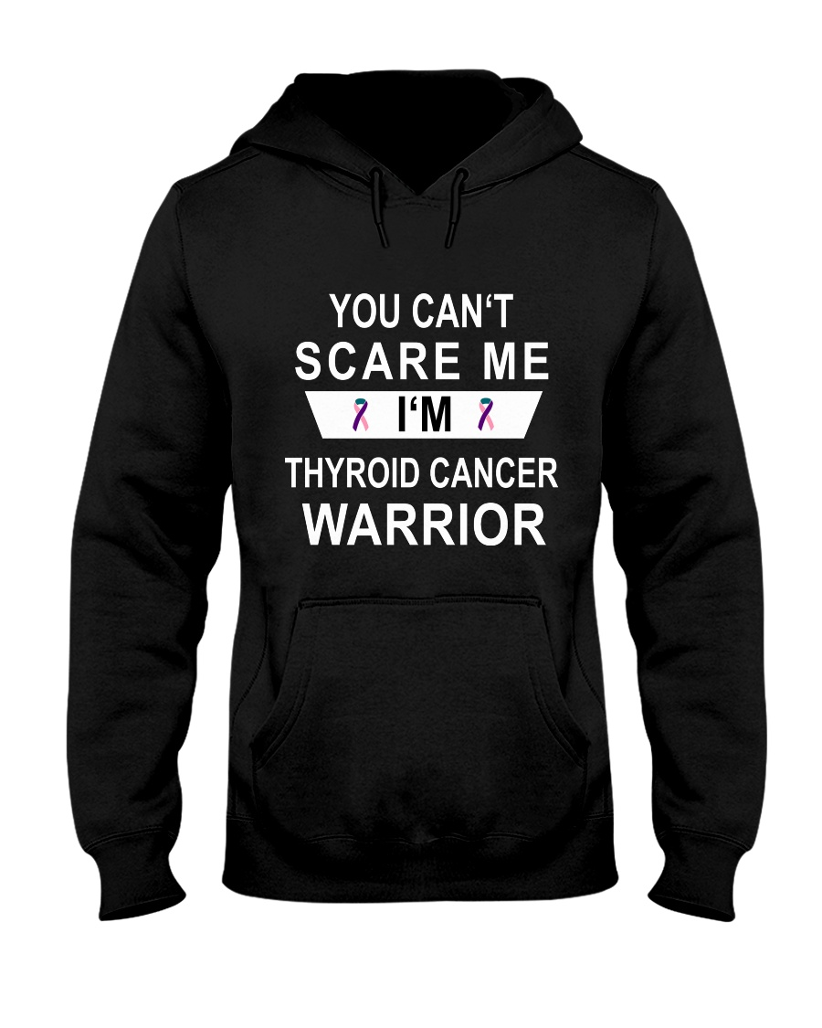 Limited Edition- thyroid cancer warrior shirts Hooded Sweatshirt