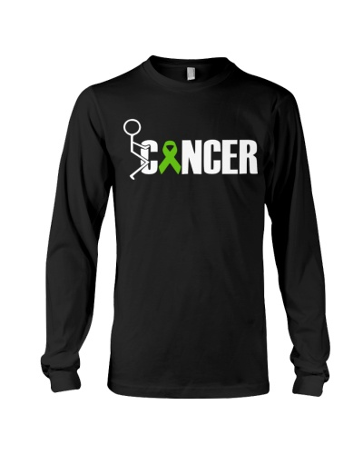 Limited edition-fuck green ribbon cancer shirt
