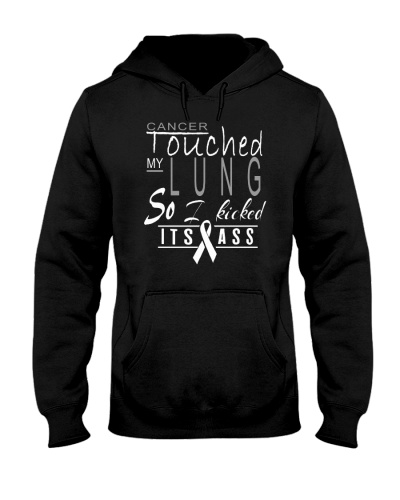 limited time- lung cancer kicked ass shirt