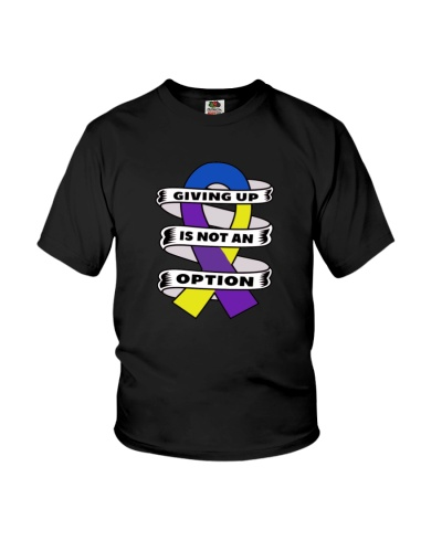 Giving up is not option-bladdercancer shirt