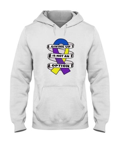 Giving up is not option-bladdercancer shirt