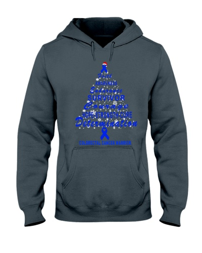 colorectal cancer Christmas tree shirt
