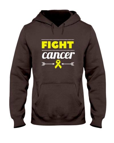Yellow ribbon cancer shirt