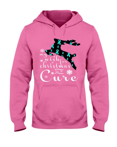 Limited Edition- ovarian cancer reindeer tees