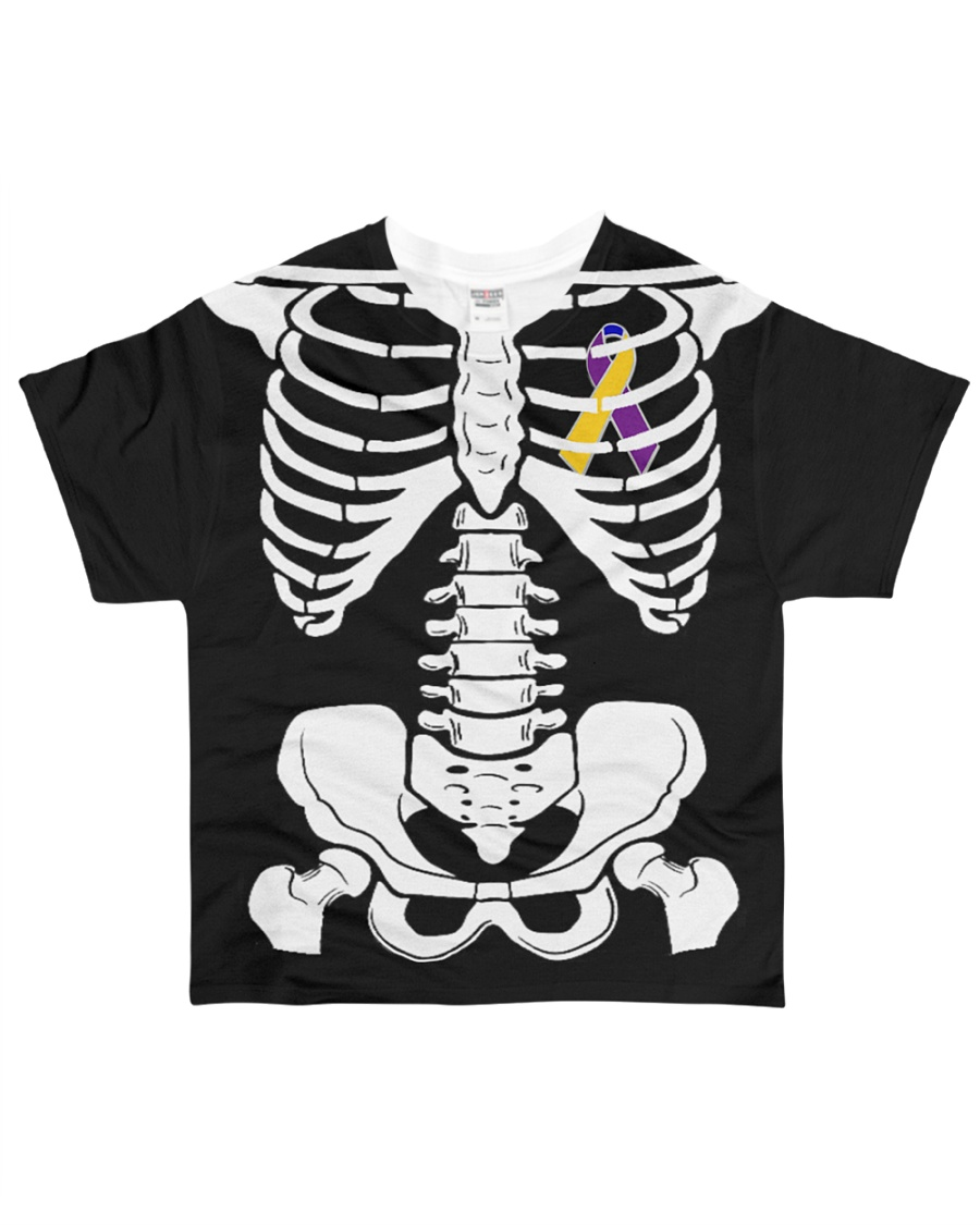 Limited Edition-bladder skeleton t shirts All-over T-Shirt