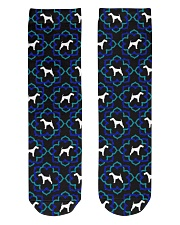 AIREDALE TERRIER LOVERS Crew Length Socks front